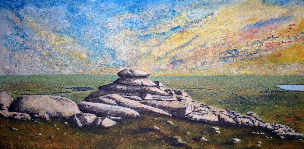 Summer Soltice on Roughtor Dunheved Art